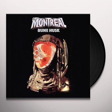 Of Montreal RUNE HUSK (CLEAR VINYL) Vinyl Record