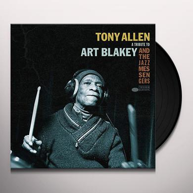 Tony Allen TRIBUTE TO ART Vinyl Record