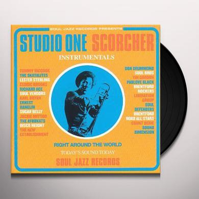 Soul Jazz Records Presents STUDIO ONE SCORCHER Vinyl Record