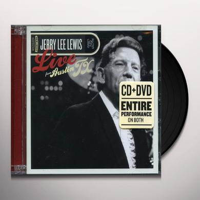 Jerry Lee Lewis LIVE FROM AUSTIN TX Vinyl Record