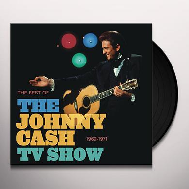 BEST OF THE JOHNNY CASH TV SHOW Vinyl Record
