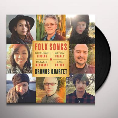 Kronos Quartet FOLK SONGS Vinyl Record