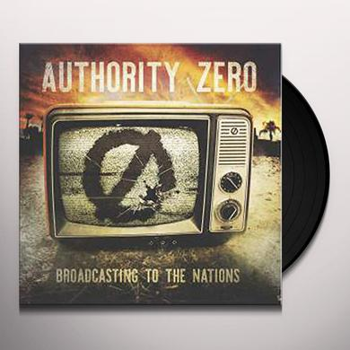 Authority Zero BROADCASTING TO THE NATION Vinyl Record