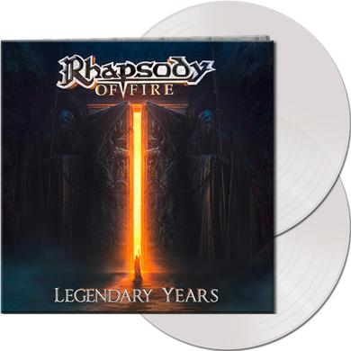 Rhapsody Of Fire LEGENDARY YEARS (CLEAR VINYL) Vinyl Record