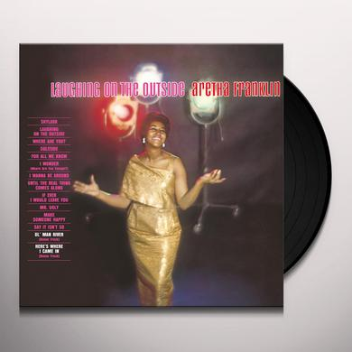 Aretha Franklin LAUGHING ON THE OUTSIDE Vinyl Record