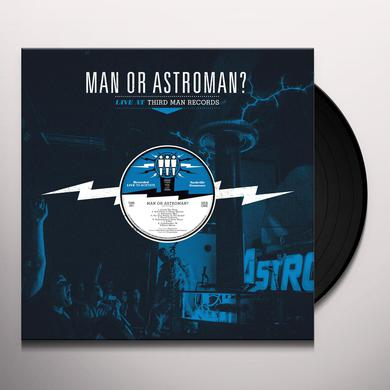 Man Or Astro-Man LIVE AT THIRD MAN RECORDS Vinyl Record