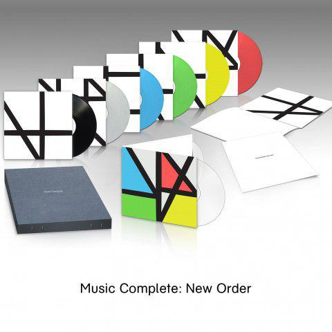 New Order MUSIC COMPLETE BOX SET (BOX) Vinyl Record