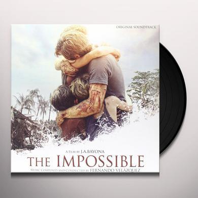 Fernando Velazquez IMPOSSIBLE / O.S.T. Vinyl Record