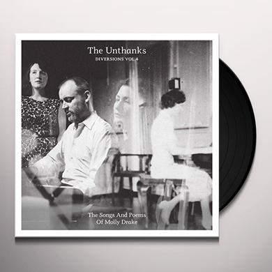 UNTHANKS DIVERSIONS VOL 4: SONGS & POEMS OF MOLLY DRAKE Vinyl Record