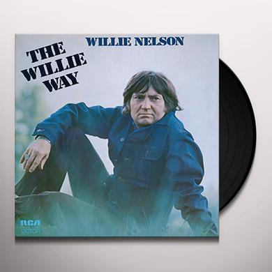 Willie Nelson WILLIE WAY Vinyl Record