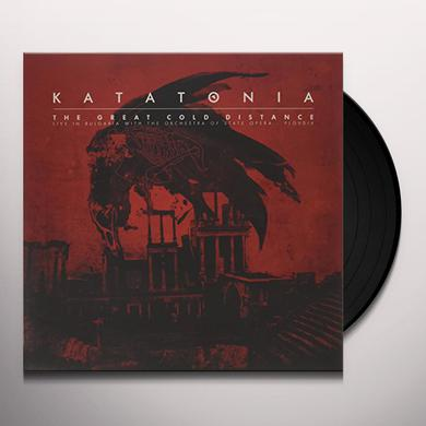 Katatonia GREAT COLD DISTANCE: LIVE IN BULGARIA WITH ORCH Vinyl Record