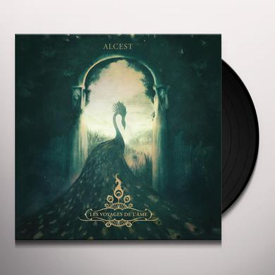 Alcest LES VOYAGES DE L'AME (RED VINYL) Vinyl Record