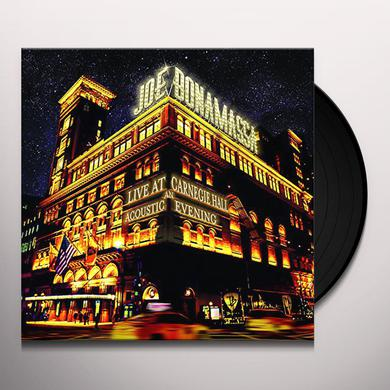 Joe Bonamassa LIVE AT CARNEGIE HALL: AN ACOUSTIC EVENING Vinyl Record