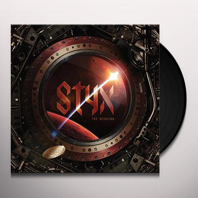 Styx MISSION Vinyl Record