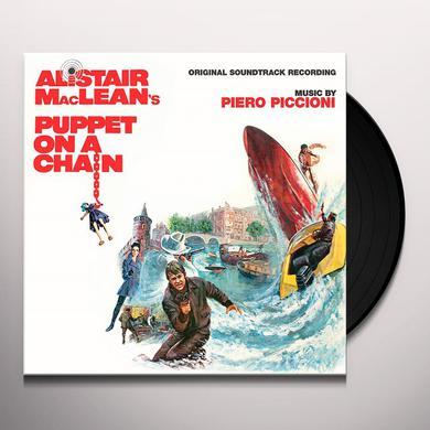 Piero Piccioni PUPPET ON A CHAIN / O.S.T. Vinyl Record