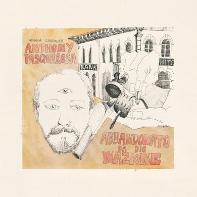 Anthony Pasquarosa ABBANDONATO DA DIO NAZIONE Vinyl Record