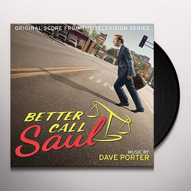 Dave Porter BETTER CALL SAUL / O.S.T. Vinyl Record