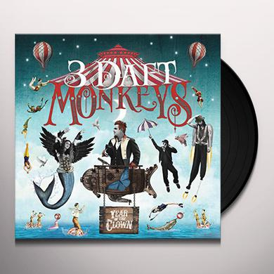 3 Daft Monkeys YEAR OF THE CLOWN Vinyl Record