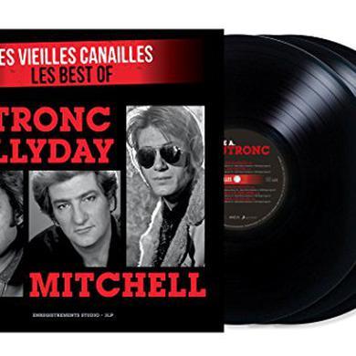Johnny Hallyday LES VIEILLES CANAILLES Vinyl Record
