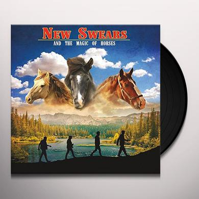 NEW SWEARS & THE MAGIC OF HORSES Vinyl Record