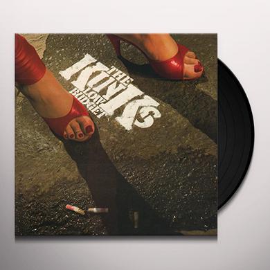 Kinks LOW BUDGET Vinyl Record