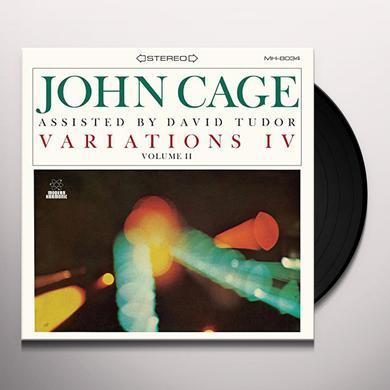 John Cage / David Tudor VARIATIONS IV: VOL 2 Vinyl Record