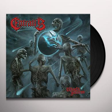 Entrails WORLD INFERNO Vinyl Record