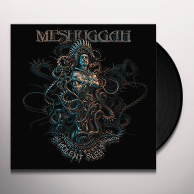 MESHUGGAH VIOLENT SLEEP OF REASON GREY/BLACK SPLATTER Vinyl Record
