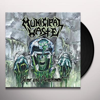 Municipal Waste SLIME & PUNISHMENT COKE BOTTLE GREEN Vinyl Record