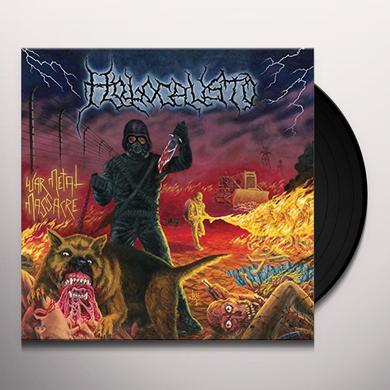 HOLOCAUSTO WAR METAL MASSACRE Vinyl Record