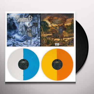 Ensiferum VICTORY SONGS & FROM AFAR (SPLIT COLOURED VINYL) Vinyl Record