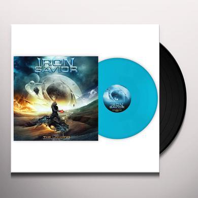 Iron Savior THE LANDING (PALE BLUE VINYL) Vinyl Record