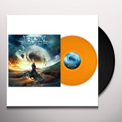 Iron Savior THE LANDING (CLEAR ORANGE VINYL) Vinyl Record
