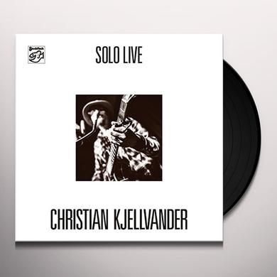 Christian Kjellvander SOLO LIVE Vinyl Record
