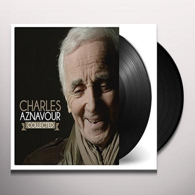 Charles Aznavour COLLECTED Vinyl Record