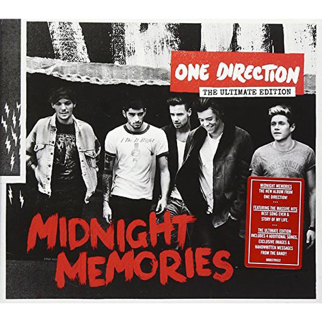 one direction midnight memories ultimate edition cd