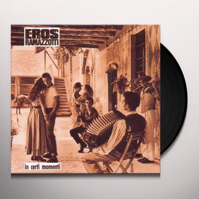 Eros Ramazzotti IN CERTI MOMENTI Vinyl Record