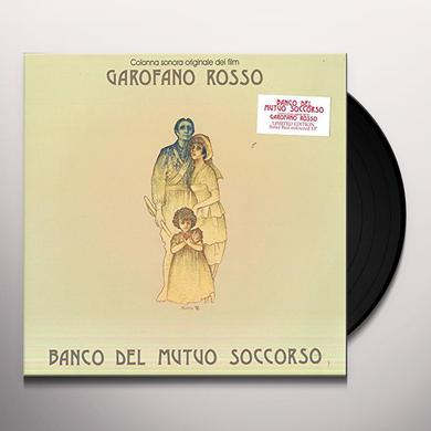 BANCO DEL MUTUO SOCCORSO GAROFANO ROSSO Vinyl Record