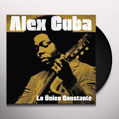 Alex Cuba LO UNICO CONSTANTE Vinyl Record