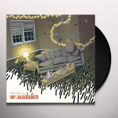 Tim Kasher NO RESOLUTION (COLORED VINYL) Vinyl Record