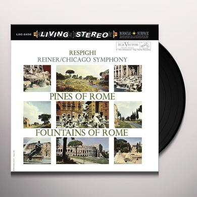 Fritz Reiner RESPIGHI: PINES OF ROME & FOUNTAINS OF ROME Vinyl Record