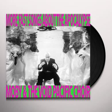 Moby MORE FAST SONGS ABOUT THE APOCALYPSE Vinyl Record
