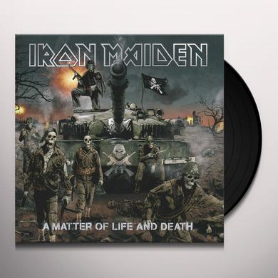 Iron Maiden MATTER OF LIFE & DEATH Vinyl Record