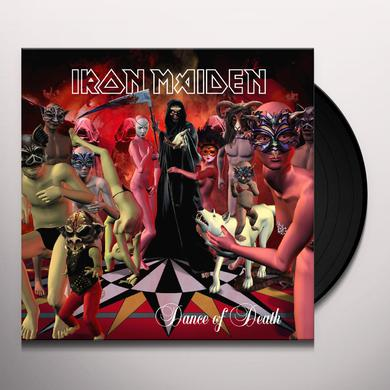 Iron Maiden DANCE OF DEATH Vinyl Record
