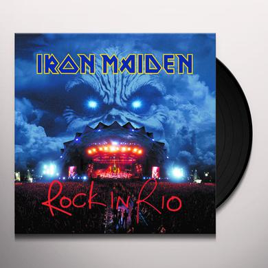 Iron Maiden ROCK IN RIO Vinyl Record