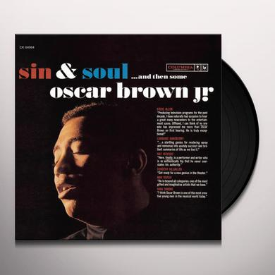 Oscar Jr Brown SIN & SOUL Vinyl Record