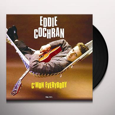 Eddie Cochran C'MON EVERYBODY Vinyl Record