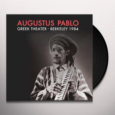 Augustus Pablo GREEK THEATER - BERKELEY 1984 Vinyl Record