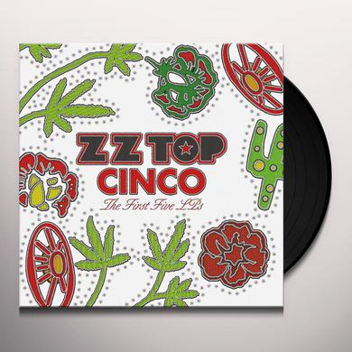 ZZ Top CINCO: THE FIRST FIVE LPS Vinyl Record