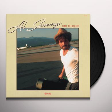 Al Sunny TIME TO DECIDE Vinyl Record